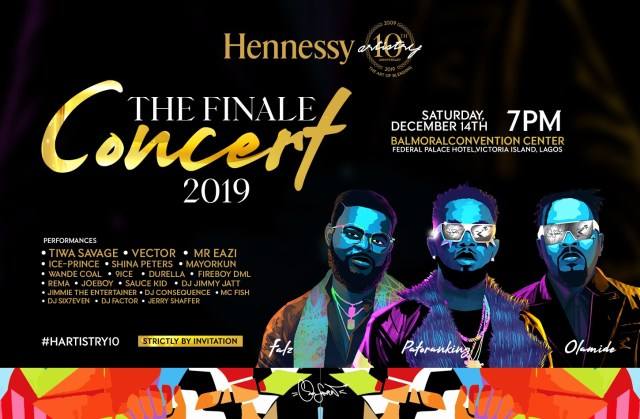 Hennessey Finale Concert 2019
