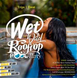 Wet 'n' Wild Rooftop Pool Party