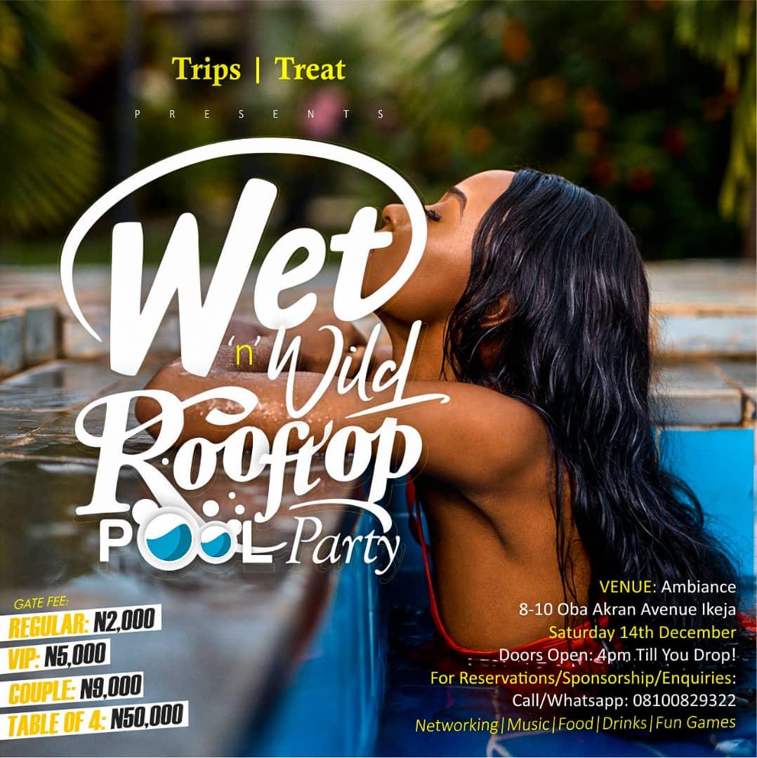 Wet 'n' Wild Rooftop Pool Party