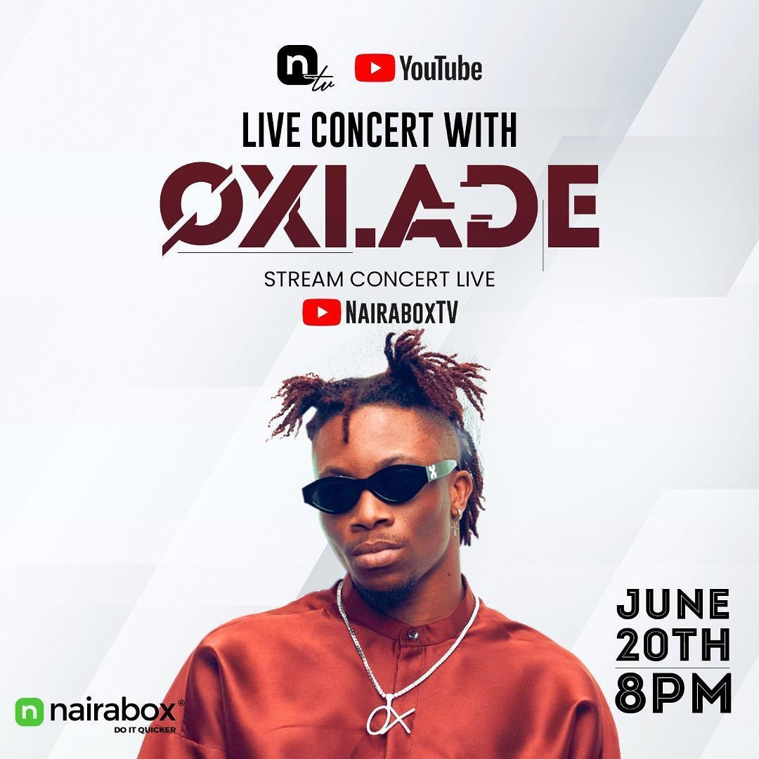 Live Concert with Oxlade