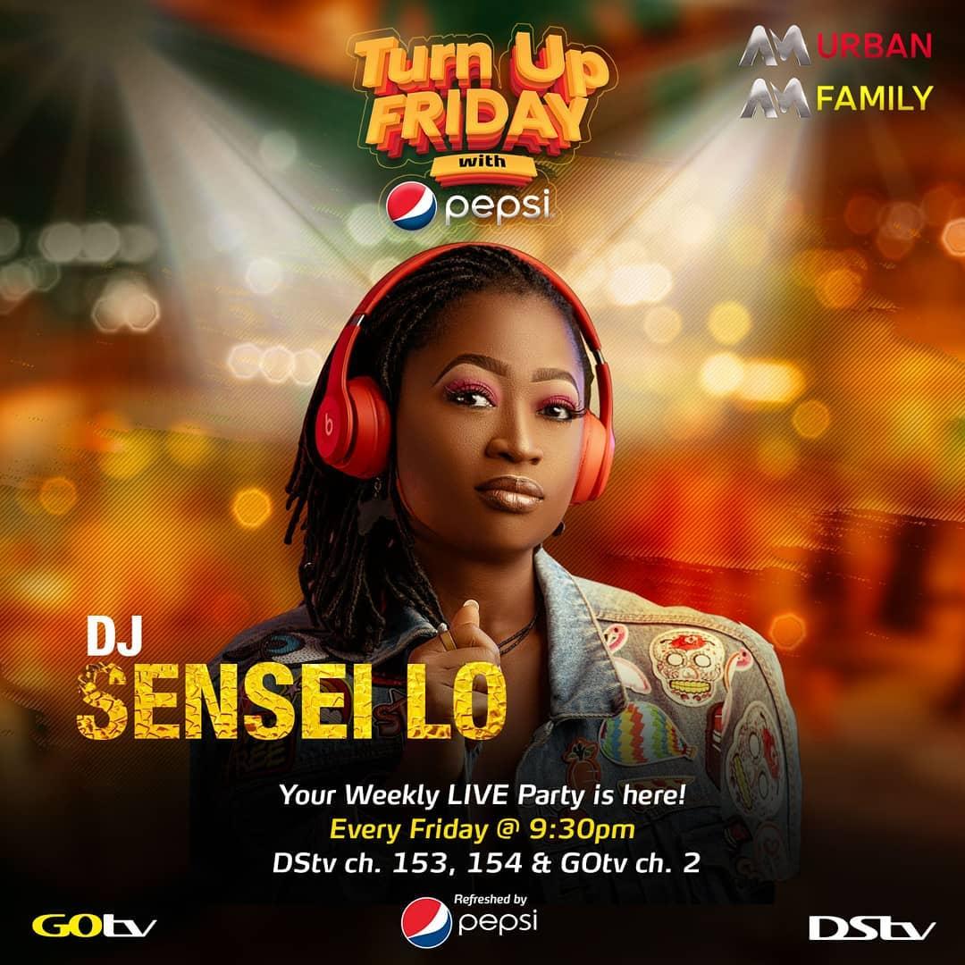 Turn Up Friday with DJ Sensei Lo