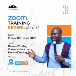 zoom training