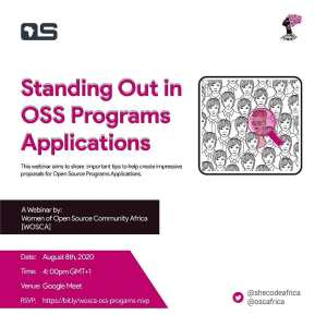 Standing Out in OSS Programs Applications