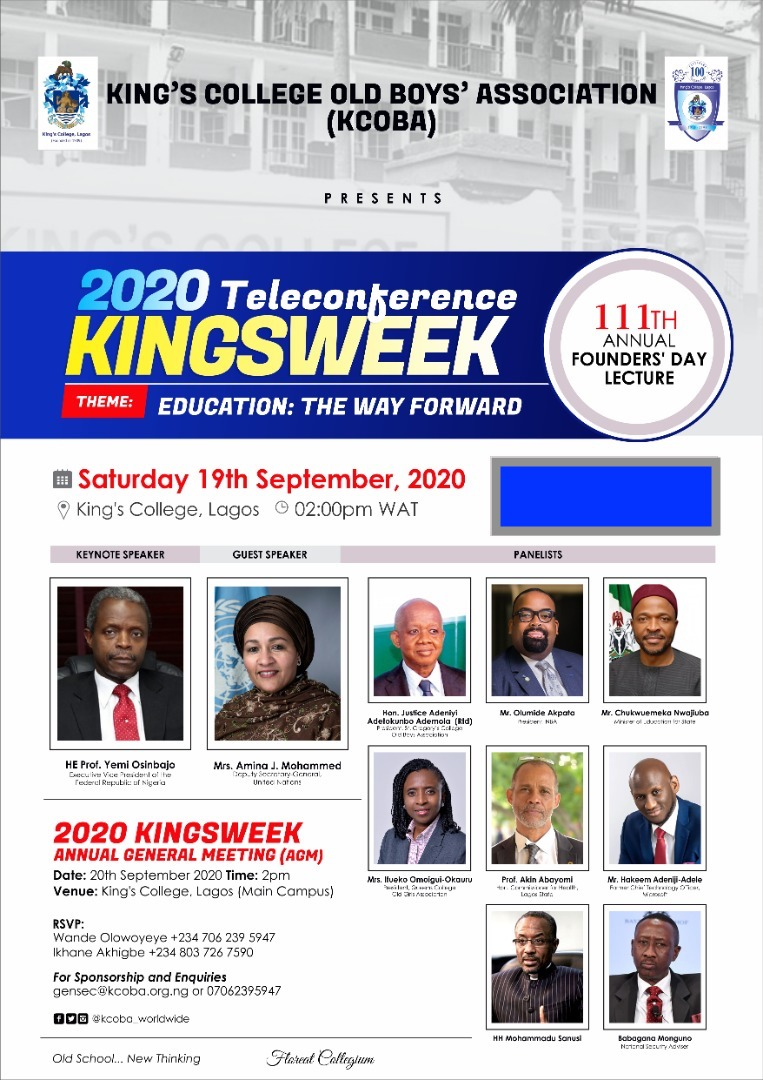 King's College Old Boys Association 111th Anniversary