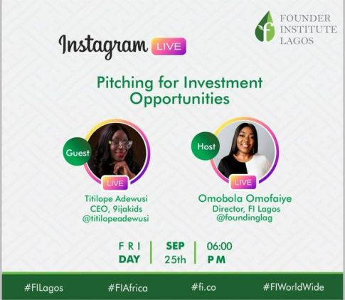 Pitch For Investment Opportunities