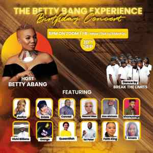 The Betty Bang Experience Birthday Concert