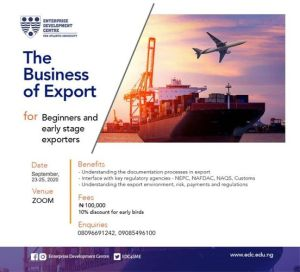 The Business Of Export For Beginners And Early Stage Exporters