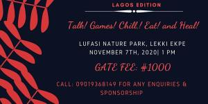 Lagos Edition of Chill and Whine Support Group