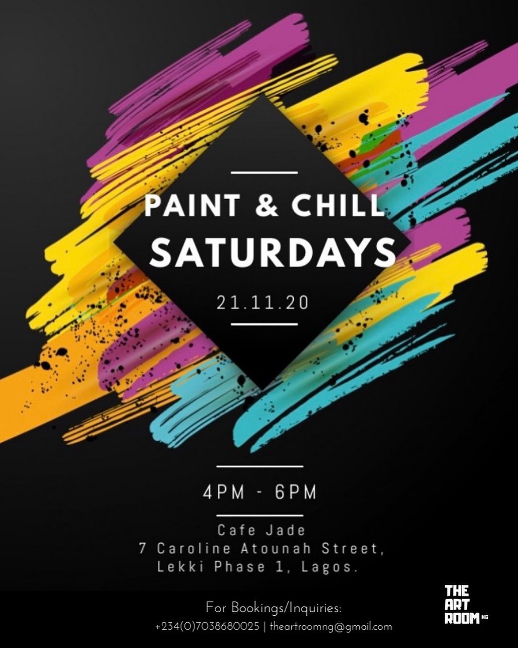Paint & Chill Saturday