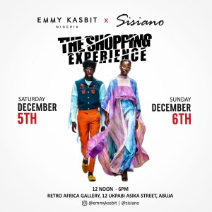 Emmykasbit X Sisiano – The Shopping Experience