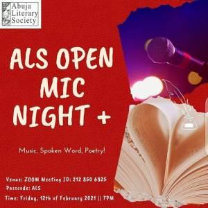 ALS Open Mic Night+