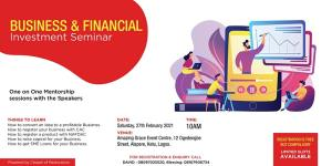 Business And Financial Investment Seminar