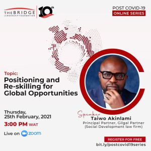 Positioning And Re-Skilling For Global Opportunities