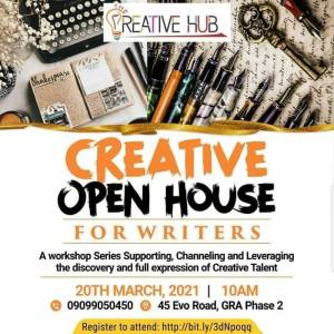 Creative Open House For Writers