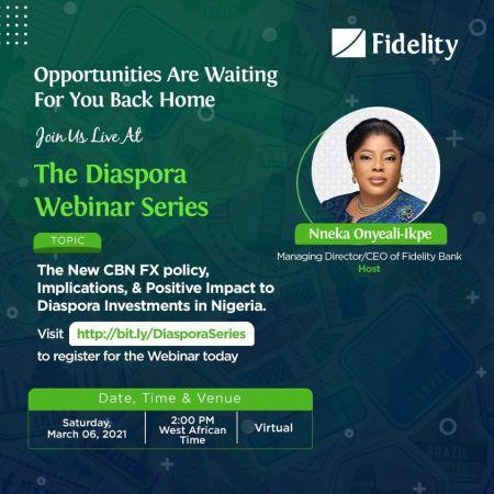 The Diaspora Webinar Series