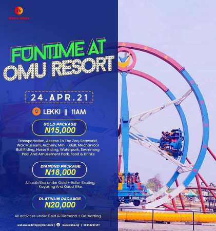Funtime at Omu Resort