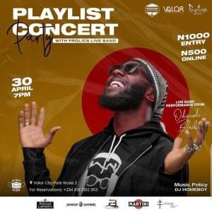 PlayList Concert Party