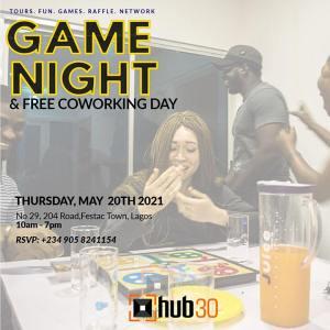 Game Night + Free Coworking