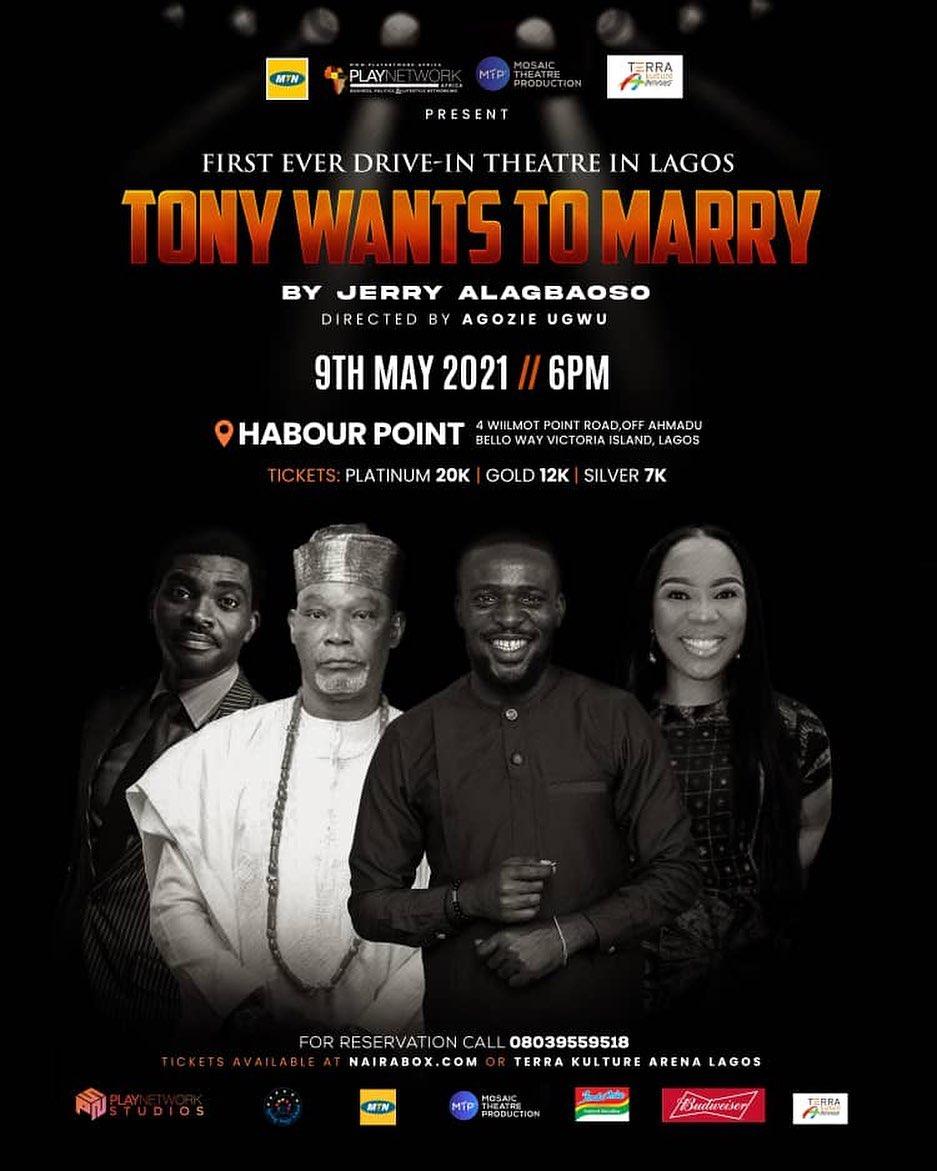 Tony wants to Marry