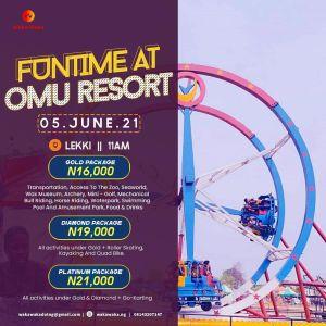 Funtime at Omu Resort