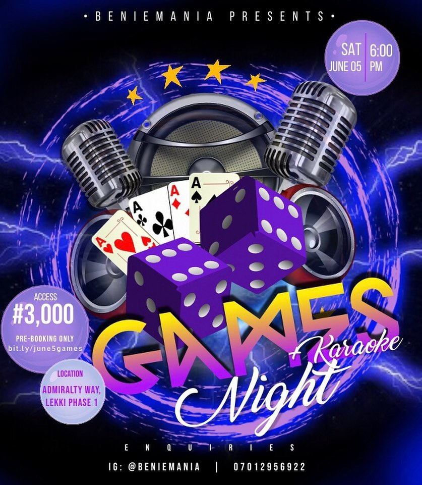 Game + Karaoke Night