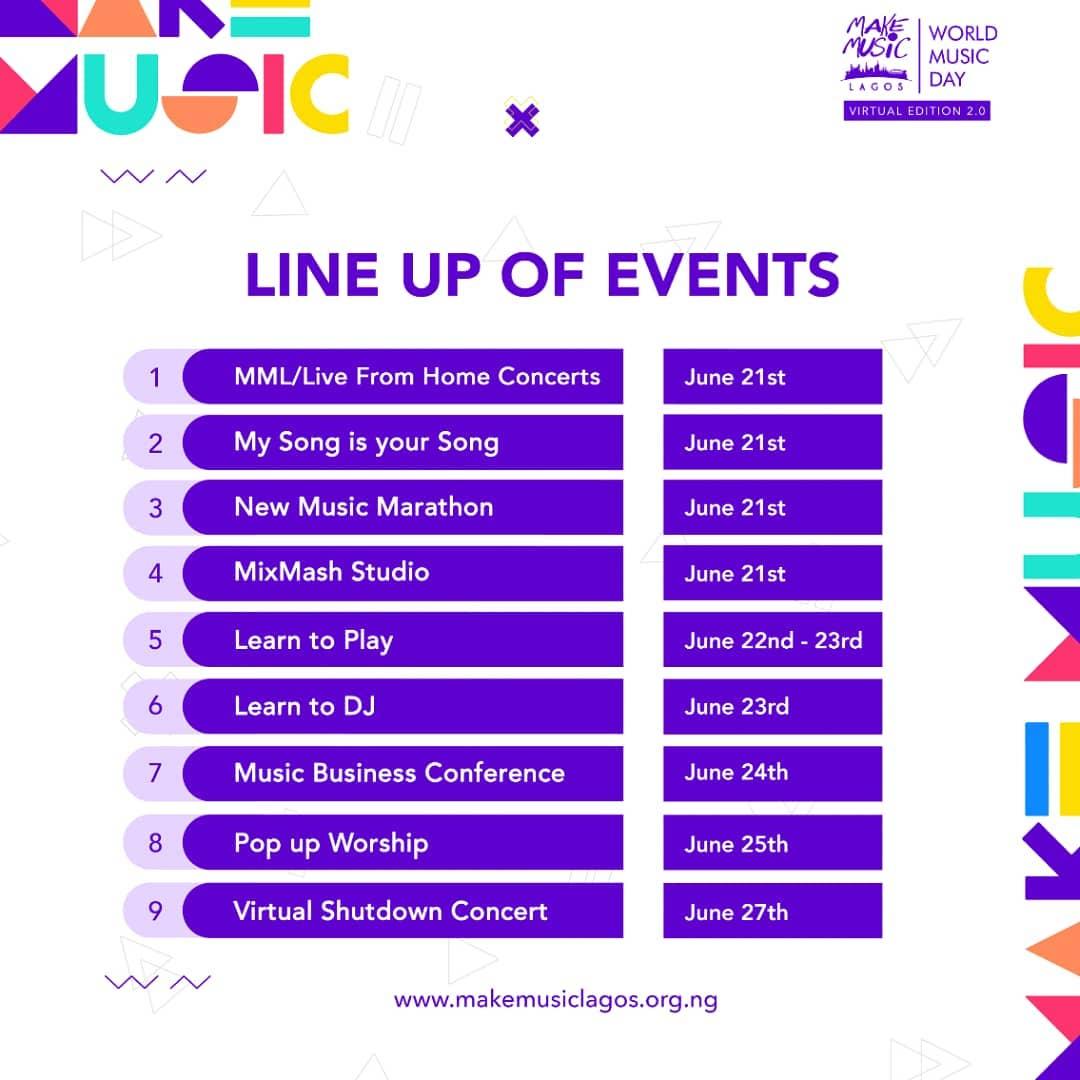 World Music Day Lagos