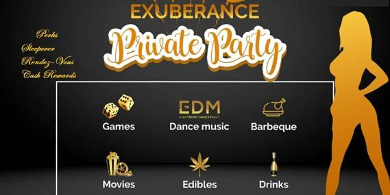 Exuberance Private Party