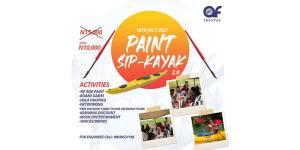 Paint, Sip and Kayak