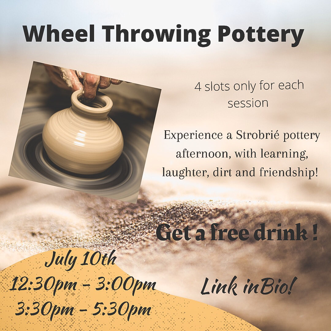 Wheel Throwing Pottery