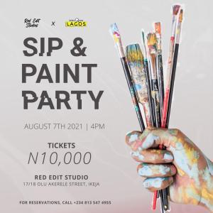 Sip & Paint Party