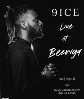 9ice Live at Bariga