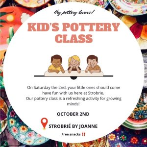Kid's Pottery Class