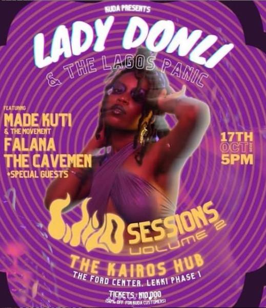 Lady Donli & The Lagos Panic