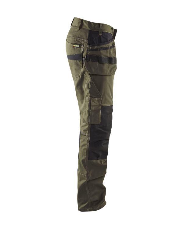 Blåkläder - Servicebyxa med stretch och spikfickor