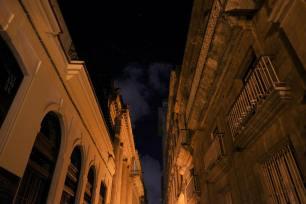 Mektige bygninger i Havanna.