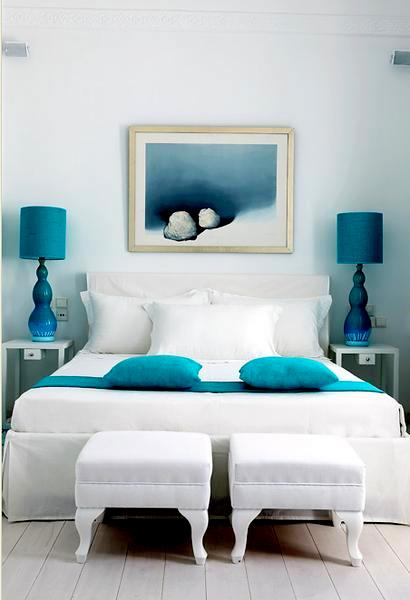 Examples of Decorating with Turquoise  Turquoise Decors Blog