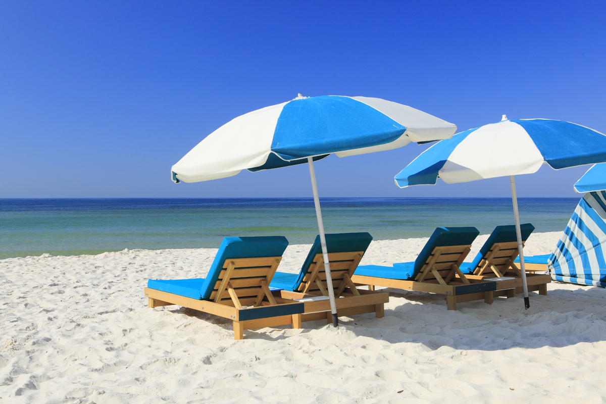 Beach Chairs Gulf Front Beach Chair And Umbrella Rentals Turquoise