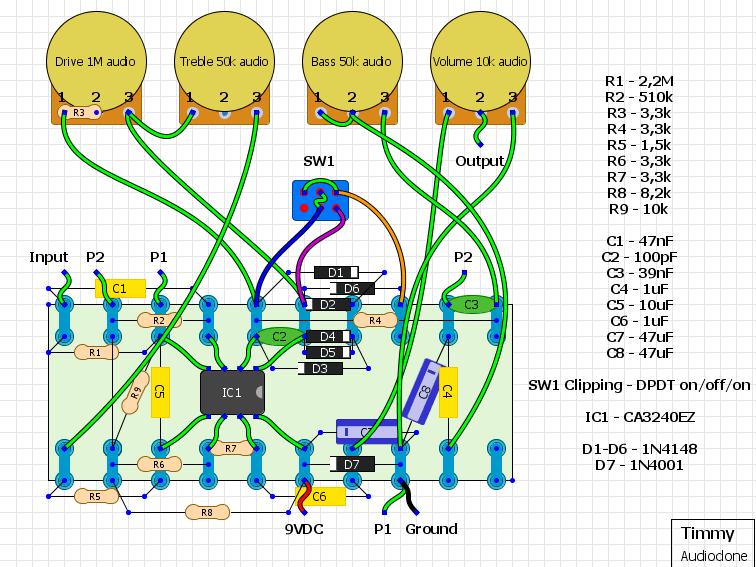 fuzz face wiring diagram 2000 isuzu npr radio factory schematic transistor ~ elsavadorla