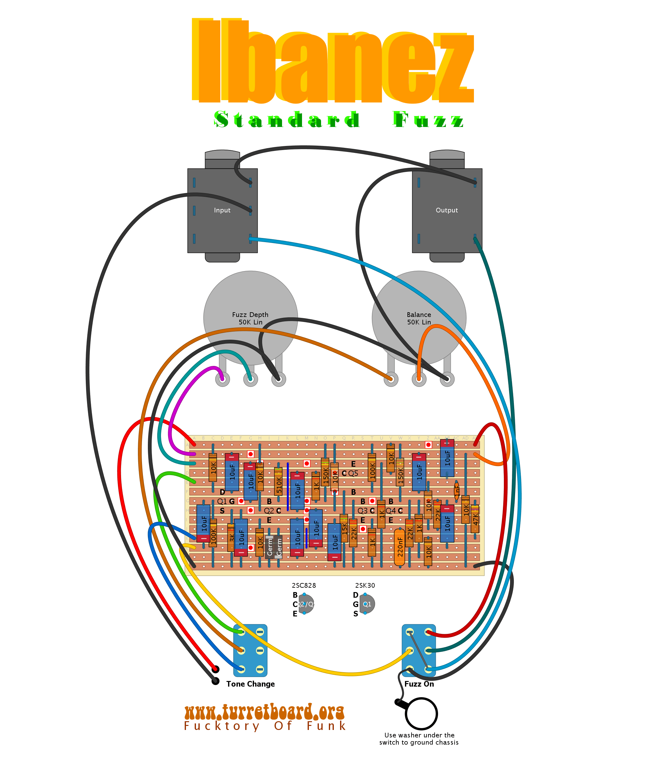 fuzz face wiring diagram three phase motor control 24 images