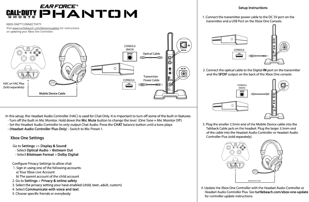 medium resolution of phantom xbox one setup diagram