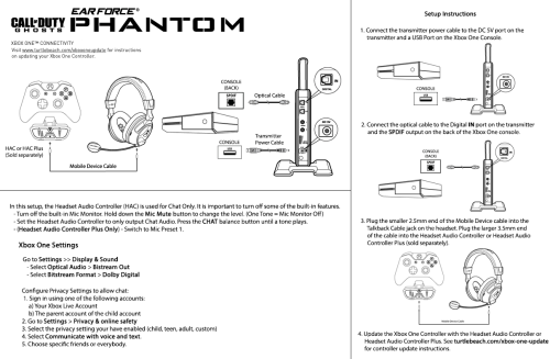 small resolution of phantom xbox one setup diagram
