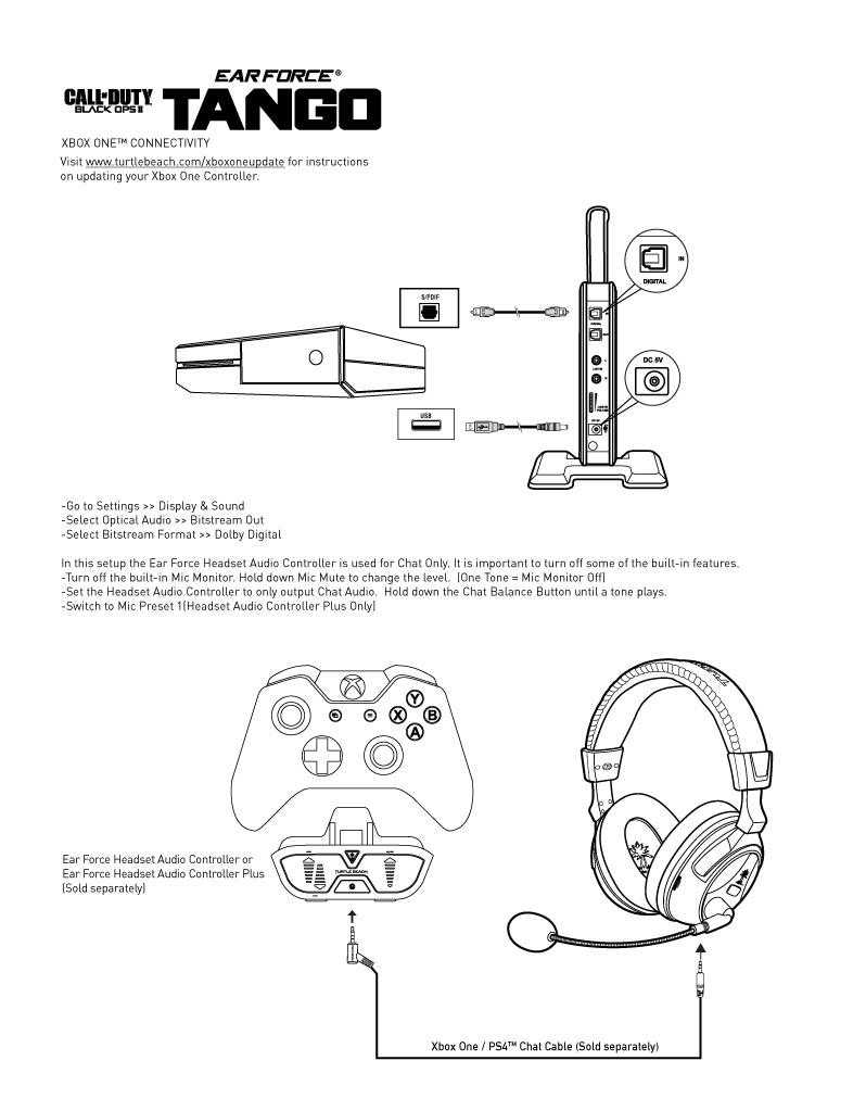 medium resolution of headset audio controller for xbox one controllers without a 3 5mm headset jack