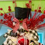 The Perfect Red White And Black Christmas Tree Turtle Creek Lane