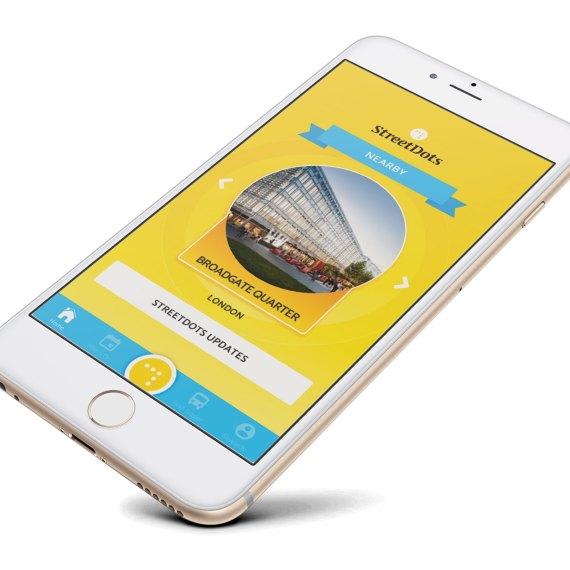 StreetDots consumer app