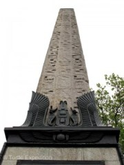 The obelisk presented to the British Nation in 1819 by Mohammed Ali, Viceroy of Egypt, is the oldest monument on the city.
