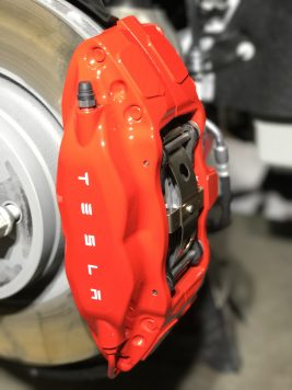 Even the brake calipers shine!