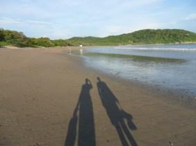 ...a private beach...