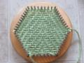 Hexagon Pin Loom Weaving with the TURTLE LoomTM)
