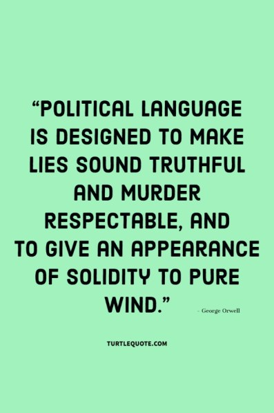 george orwell quotes truth