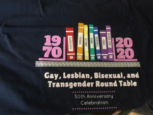 4539d3be The American Library Association formed our Gay caucus in 1970. (See 50  year anniversary t-shirt design above). Other professional groups began to  form gay ...